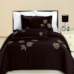 4PC-OR-8PC-Soft-and-Smooth-Newbury-Embroidered-100-Combed-Cotton-Bedding-Set