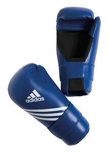 adidas-Semi-und-Leichtkontakthandschuhe-blau-Boxhandschuh-Karate-Kickboxen