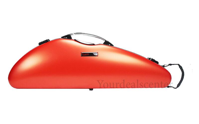 AUTHORIZED BAM DEALER Bam Violin Case Slim Hightech -- Orange