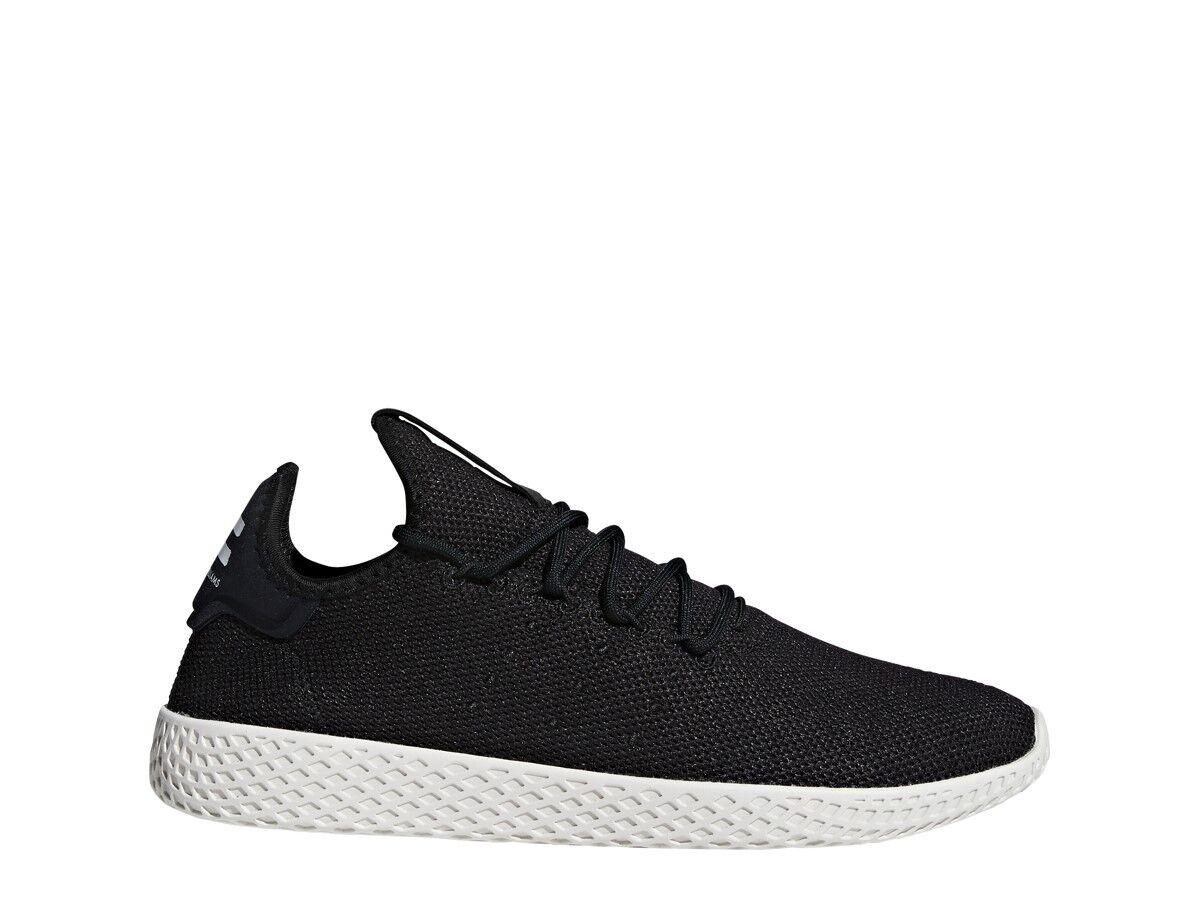 Adidas Mens PW TENNIS HU BLACK BLACK CHALK - AQ1056
