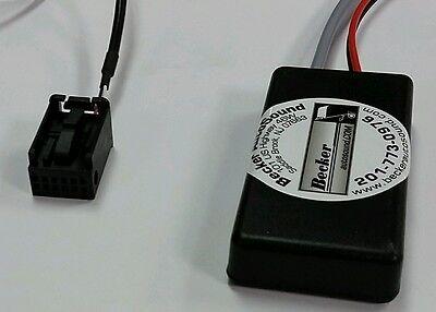 2009-2012 Porsche CDR30//31 Bluetooth Streaming Interface BAS-BLUE.BLK