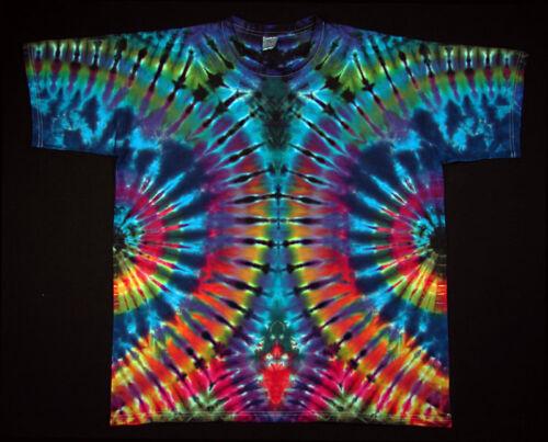 Tie Dye T 5xl Flower Hippie Kurzarm shirt Gr Power Batik Goa s Neu Handgefärbt x08qf6w