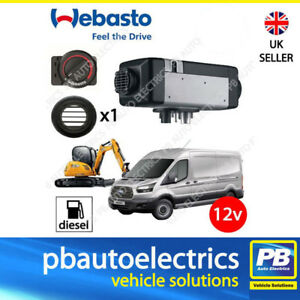 WEBASTO-AIR-TOP-2000STC-12V-AIR-HEATER-SINGLE-OUTLET-DIESEL-ROTARY-4111385C-1