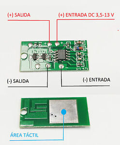 Details about CONTROL TACTIL ON OFF REGULABLE DC 3 3 - 15 V TOUCH CONTROL  DIMMER ARDUINO RASPB