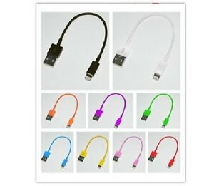 Short-20cm-USB-Lead-Charger-Cable-Data-Sync-Wire-for-iPhone-6-6-5-5c-5s