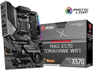MSI MAG X570 TOMAHAWK WIFI AM4 AMD X570 SATA 6Gb/s ATX AMD Motherboard