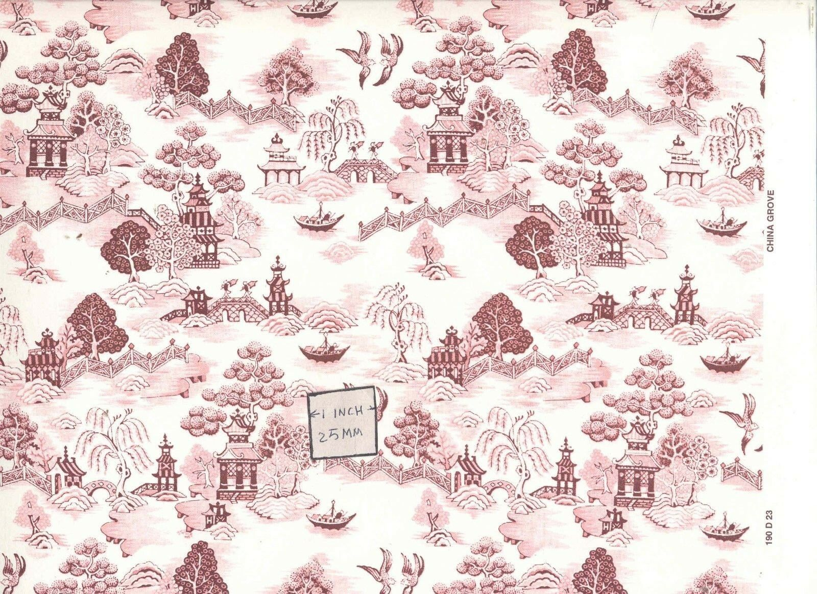 Natasha 193D23 MiniGraphics dollhouse wallpaper 1pc 1//12 scale
