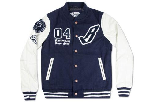 Billionaire Boys Club B Varsity Jacket in Navy Blaze Size L-XXXL NWT