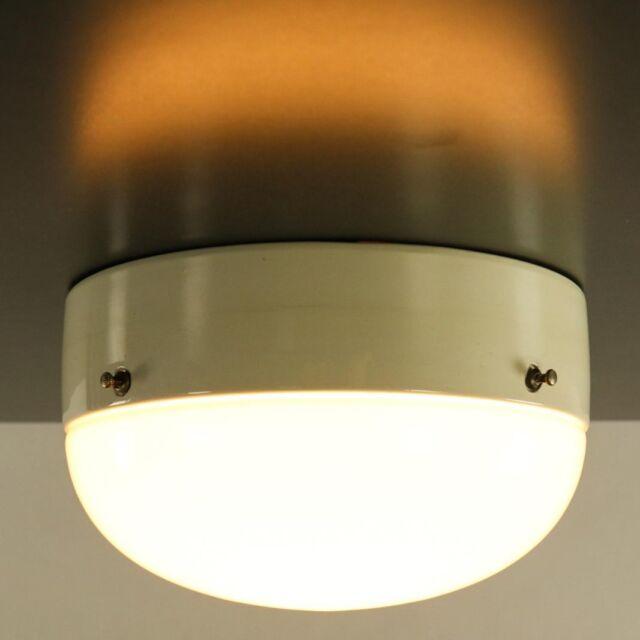 Bünte & Remmler Decken Leuchte Bauhaus Lampe Vintage 20er 30er Jahre