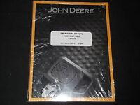 John Deere 585e 586e 588e Forklift Operation & Maintenance Operator Manual Book