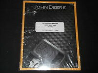 John Deere 585e 586e 588e Forklift Operation & Maintenance Operator Manual Book