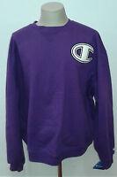Champion Purple Big C Crewneck Sweatshirt Xxl