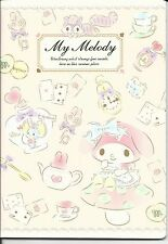 Sanrio My Melody Composition Notebook Mushroom Clock