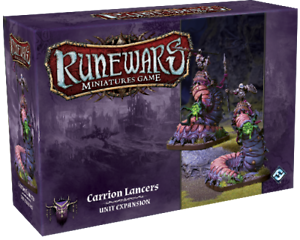CARRION LANCERS RUNEWARS MINIATURES GAME FANTASY FLIGHT