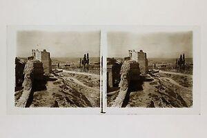 Costantinopoli-Pareti-Cimitero-Turchia-Turkey-Placca-Da-Lente-Stereo-Positivo