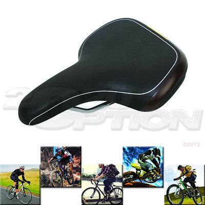 PU Leather Bicycle Seat MTB Bike Beach Cruiser Comfortable Memory Foam Saddle