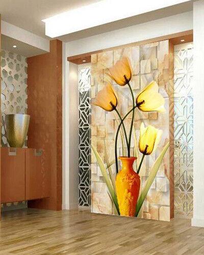 3D Vase Blumenmuster 688 Tapete Tapeten Mauer Foto Familie Tapete Wandgemälde DE