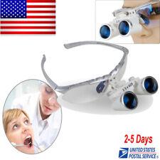 Silver Dental Lab Surgical Medical Binocular Loupe 35x420mm Optical Glass Fda
