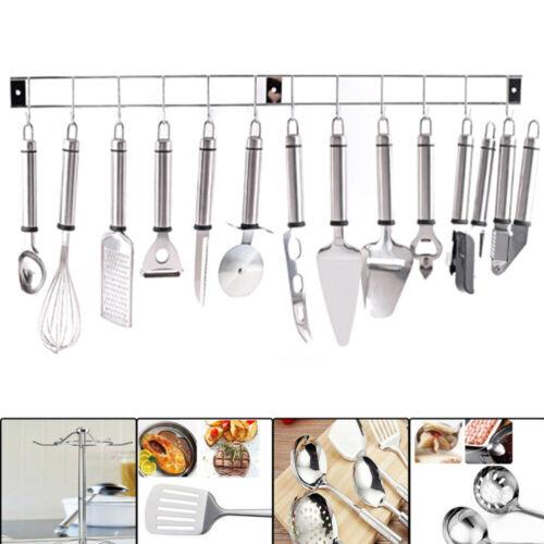 13 Stück Küchenhelfer Edelstahl Küchenutensilien Kochzubehör Küche Besteck Set