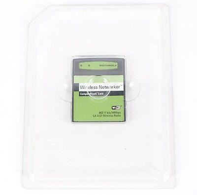 Motorola Wireless Networker CompactFlash Card WiFi 802.11 LA-5137-1120-WWR