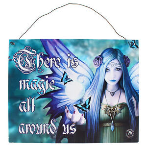 Fantasy-Gothic-Art-Metal-Wall-Plaque-Sign-Mystic-Aura-by-Anne-Stokes-7-uk