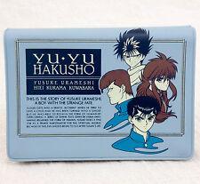 RARE! Yu Yu Hakusho Card Case Holder Hiei Kurama Yusuke JAPAN ANIME MANGA