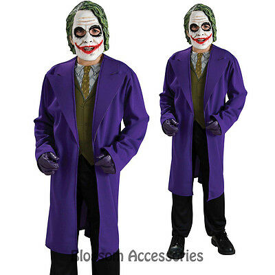 CK250 Licensed The JOKER Batman Dark Knight Boys Child Halloween Fancy Costume