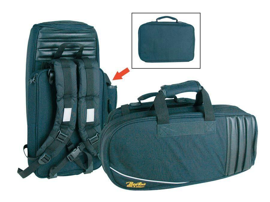 Deluxe Gigbag für Flügelhorn mit Rucksackgurten und Zubehörtasche