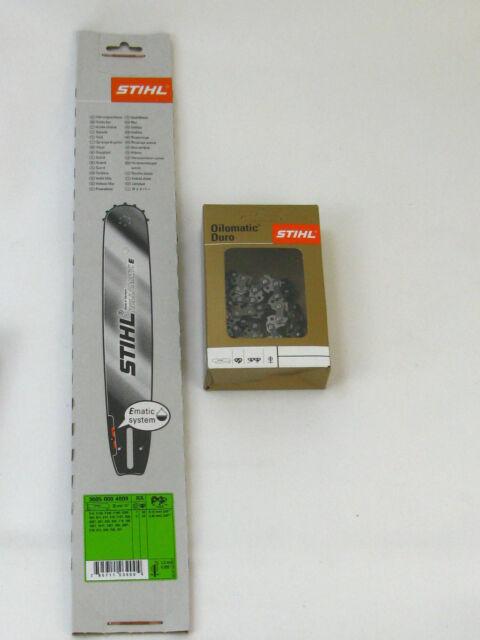 "Stihl 3005 000 4809 Carril de Guía 35cm 3/8"" P/1,3 + 1x Cadena 3612 000 0050"