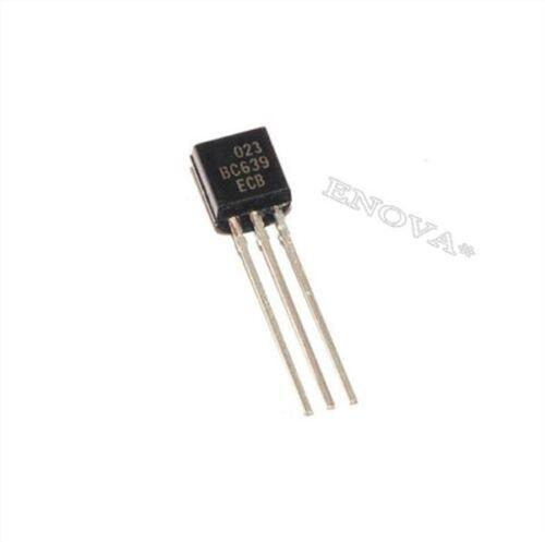 50 Stücke BC639 Npn Transistor 80V 1A 0.8W TO92 Von Cdil Ic Neu ik