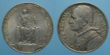 PIO XI RARO 10 LIRE 1929 A.VIII ROMA FDC