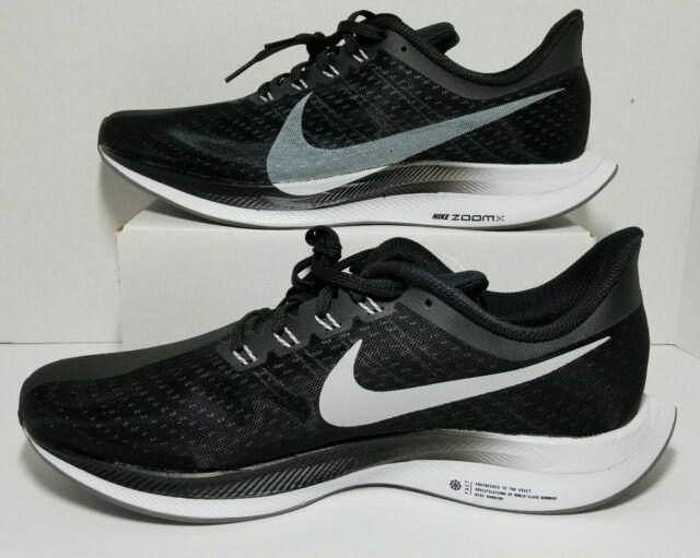 brand new b2687 3a5ef Nike Zoom Pegasus 35 Turbo Black Men's ZOOMx Running Shoes Aj4114 001 Size  10