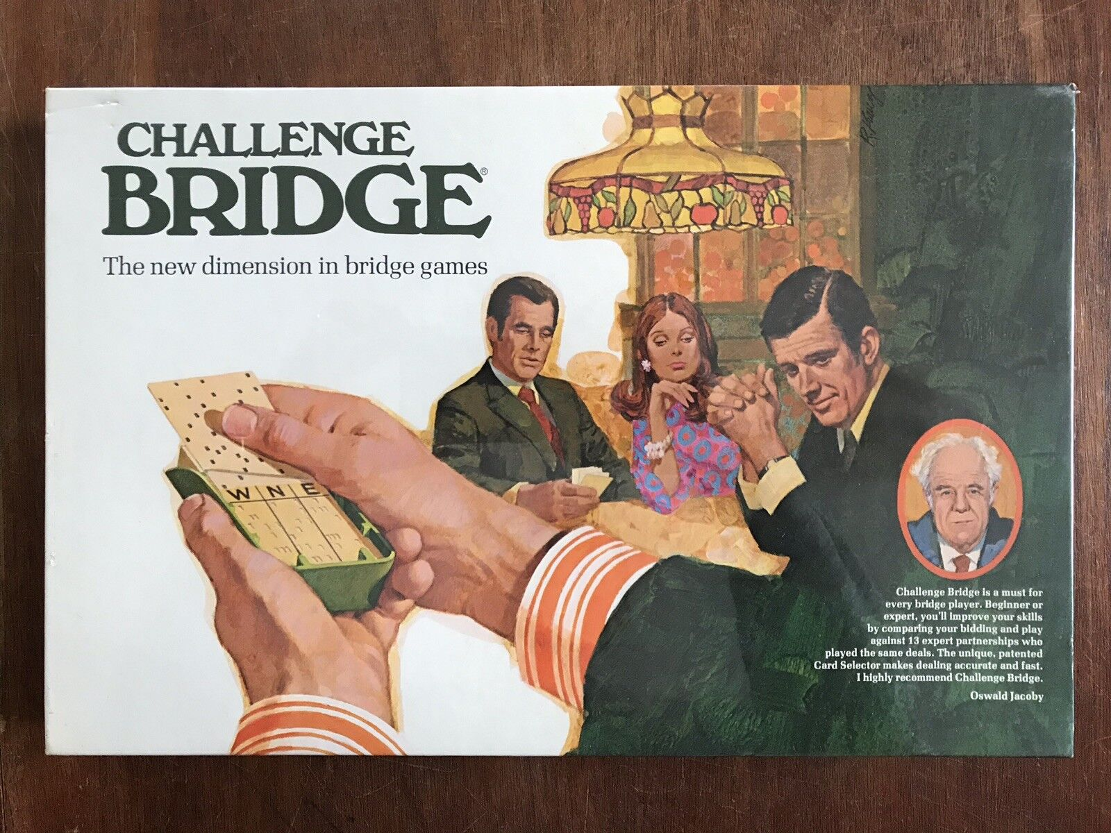 Card Game, Challenge Bridge, 3M, 1972
