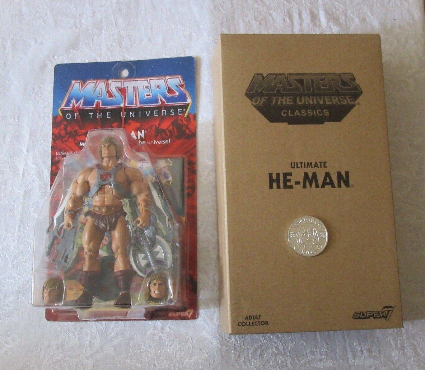 servicio honesto súper 7    Amos del universo Amos Del Universo clásicos He-Man Moneda Con Figura De Acción  connotación de lujo discreta