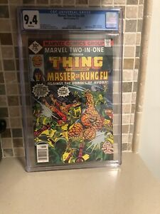 Marvel-Two-In-One-29-NM-9-4-CGC-2nd-Appearance-Spider-Woman-Shang-Chi