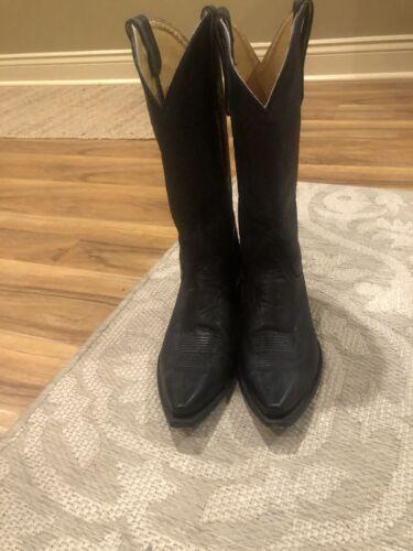 Ladies Western Boots Size 9 Black