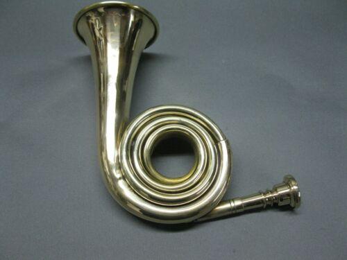 Messing Jagdhorn Posthorn  22 cm Brass  Horn