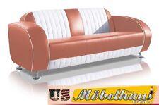 G63D Bel Air Fifties Style Designer Sofa Wohnzimmer Sessel Retro USA 50er Jahre