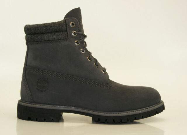 Timberland 6 Inch Double Collar Boots Waterproof Men Lace up Boots A159M