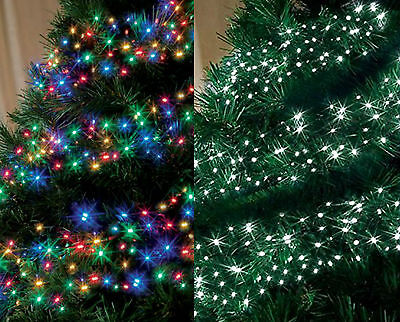 Multi Action LED Cluster Indoor Or Outdoor Christmas Tree ...