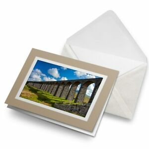 Greetings-Card-Biege-Ribblehead-Viaduct-Yorkshire-Dales-15740