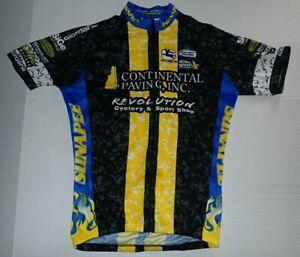Giordana-Cycling-Jersey-Men-3-M-Short-Sleeve-Full-Zip-New-Hampshire-b20