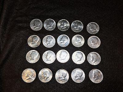to AU EF 1976 Bicentennial Kennedy Half Dollar Clad Roll Lot of 20 Coins