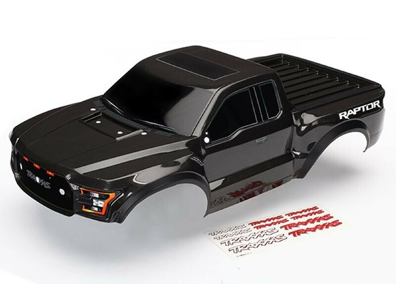 TRAXXAS 2017 FORD RAPTOR carrozzeria finito laccato in nero - 5826a