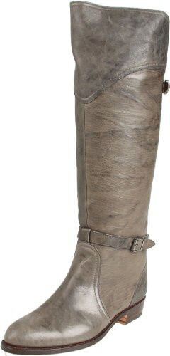 New in Box Old FRYE Women's Dorado Riding Boot Charcoal Antique Leather Size 6