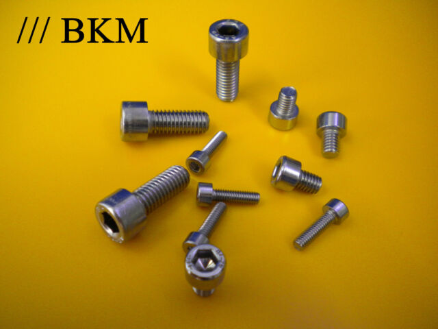 Zylinderschrauben Inbus M1,6/ M2/ M2,5 DIN 912 Zylinderkopfschrauben Edelstahl