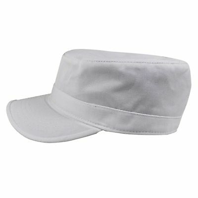 Castro Military Rasta Hat Cotton Cap Reggae Rastafarian Jamaica Free Size