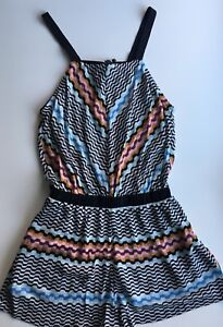 cf1ccac73b Image is loading NWT-Authentic-MISSONI-MARE-Multicolor-Beach-Short-Jumpsuit-