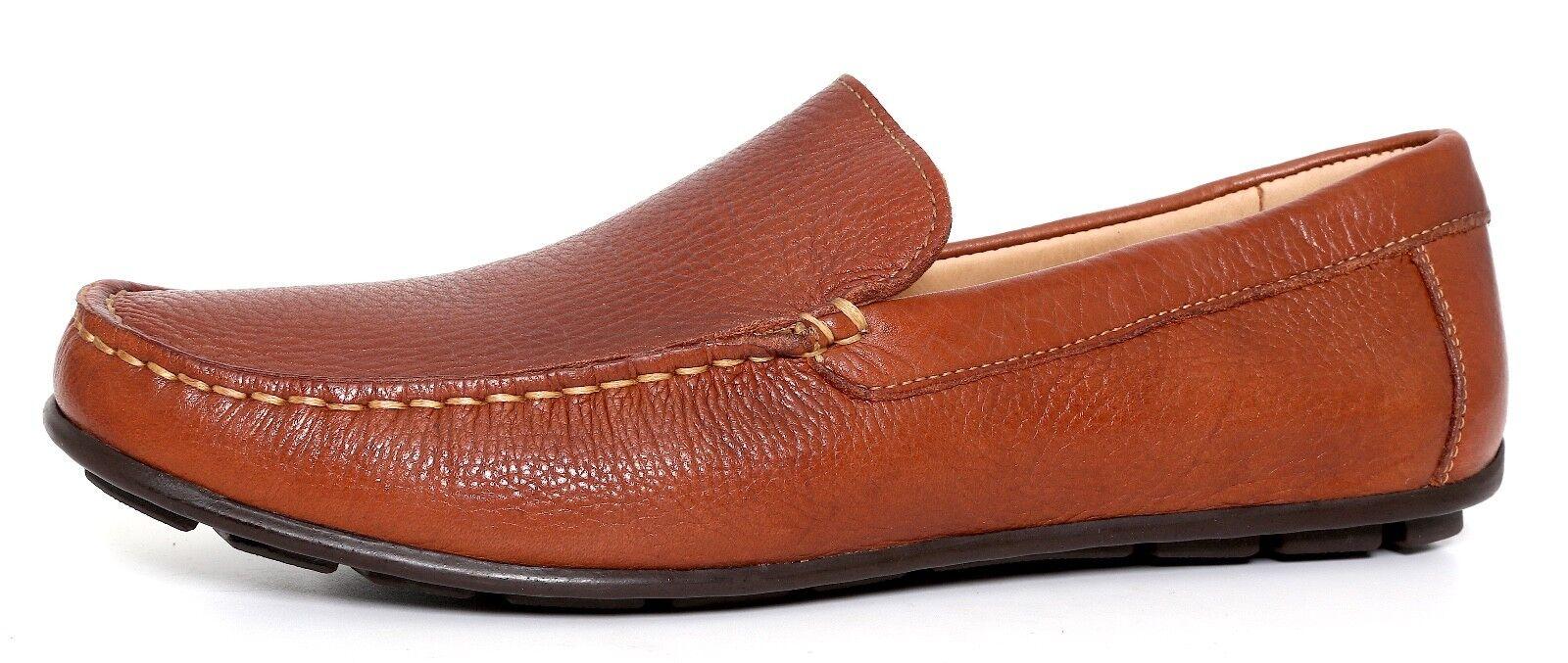 1901 Slip On Pelle Loafers Brown Sz 8 M 1260