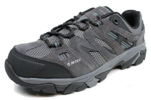Men/'s Hi-Tec® Jason Low Grey Medium Width Hiking Shoes Size